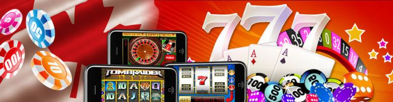 online casino games and canadian flag